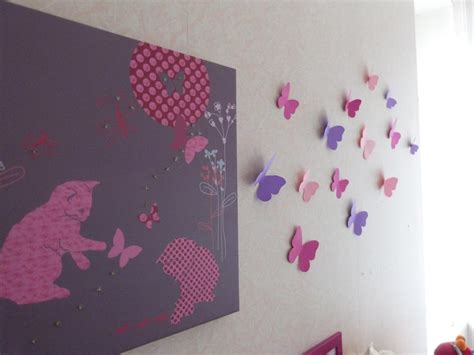 decoration papillon chambre fille sedgu