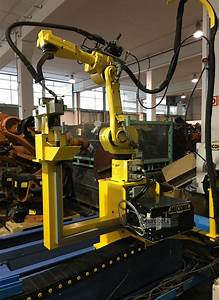 Fanuc Arcmate 100ib Robot Welding System 9 Axis