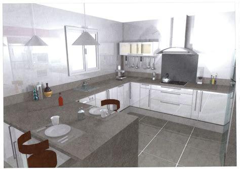cuisine sans element haut cuisine sans meuble haut dootdadoo com idées de