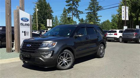 2017 Ford Explorer Sport by 2017 Ford Explorer Sport W Pannel Moonroof Review