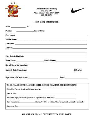 2012 form 1099 misc fillable fillable online 1099 misc information ohio elite soccer