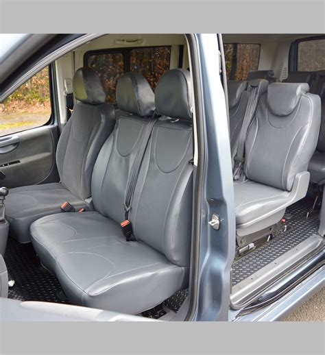 toyota proace  seater waterproof tailored van seat covers