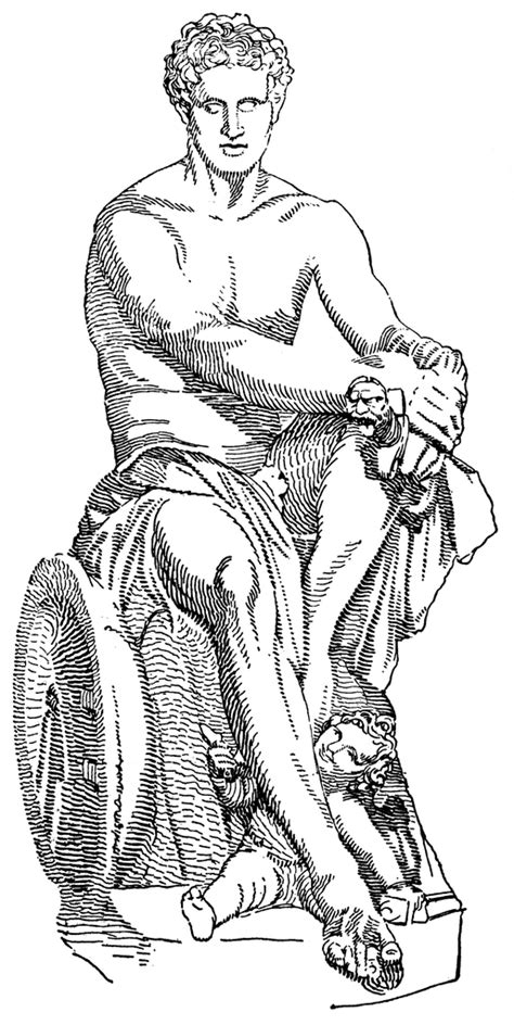 ares ludovisi clipart