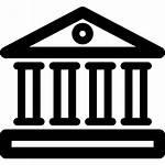 Bank Icon Icons Banco Flaticon Banque Gratis