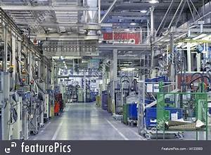 Picture Of Industrial Factory Interior