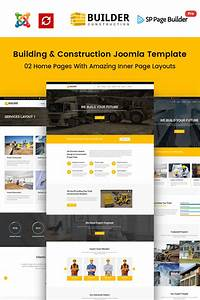 Builder construction company joomla template 65495 for Joomla template builder software
