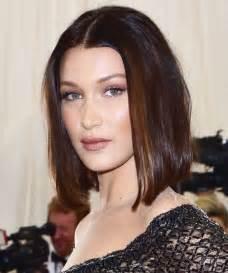 Bella Hadid's 2017 Met Gala Lob Haircut   InStyle.com