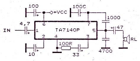 Low Power Amplifier With Electronic Circuit