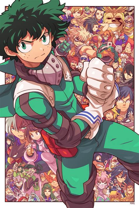 dessins smash bros  hero academia dragon ball full