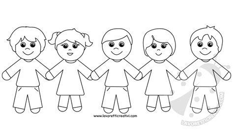 disegni di bambini abusati bambina felice da colorare migliori pagine da colorare