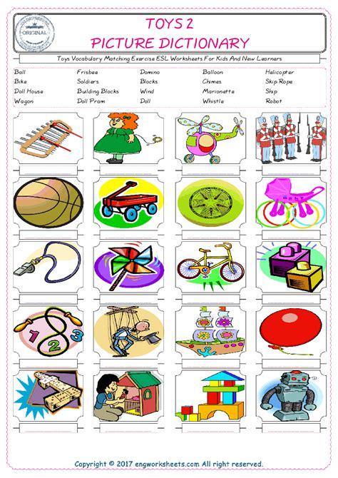 holiday esl printable vocabulary worksheets