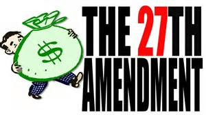 Image result for 27th Amendment