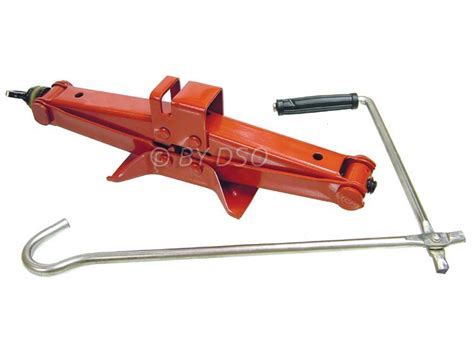 Trade Quality 1 Ton Scissor Wind Up Jack With Speed Handle