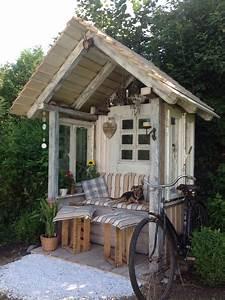 Gartenlauben Aus Holz : gartenlaube aus altholz kellerfunden und alten ~ Watch28wear.com Haus und Dekorationen