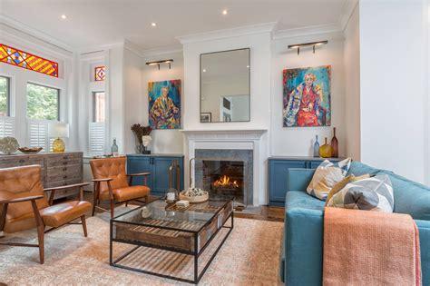 comfy eclectic living room designs