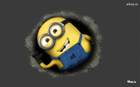 Minions Background Despicable Me Minions With Background Hd Wallpaper