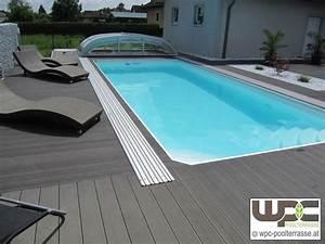 Pool Mit Holzterrasse : wpc bilder referenzen terrassendielen wpc terrasse bilder wpc poolterrasse adorjan ~ Whattoseeinmadrid.com Haus und Dekorationen