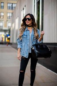 Style Tips On How To Wear A Denim Jacket | Denim jackets Clothes and Oversized denim jacket