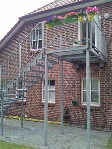 treppen With französischer balkon mit außentreppe garten