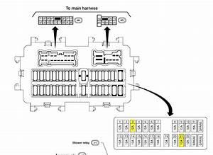 2006 Xterra Fuse Box Diagram