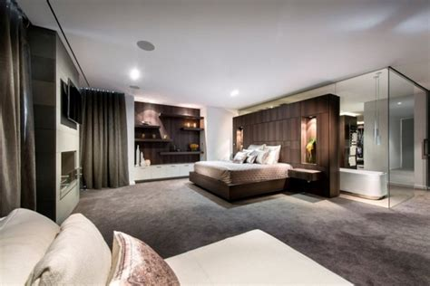 hotel luxe chambre villa de luxe avec intérieur contemporain