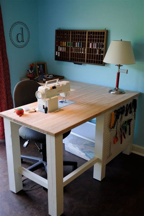 sewing machine desk ideas 1494 best sewing room decorating ideas images on pinterest