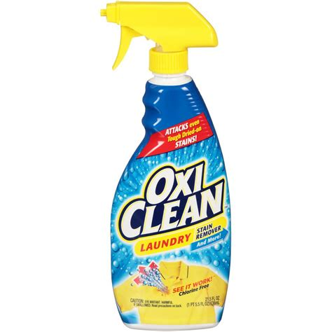 Stain Remover Products by Oxiclean 21 5 Oz Fabric Laundry Stain Remover 51693 The
