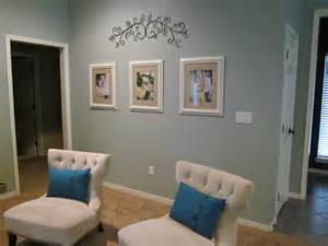Pale Blue Living Room Picture