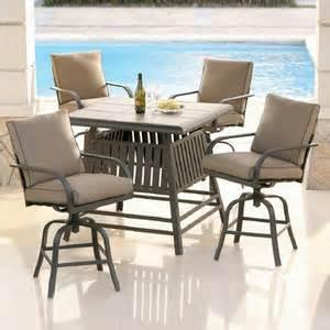 hometrends perryville court 5 piece high dining bar set