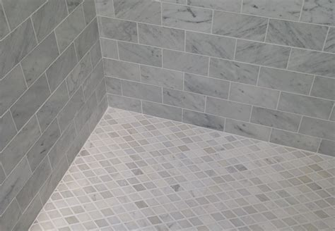 choosing grout color bath in portland seattle