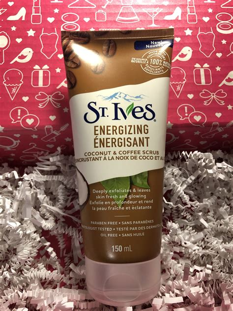 Then sit down in the shower and wait. St. Ives Energizing Coconut & Coffee Scrub reviews in Face Exfoliators - ChickAdvisor