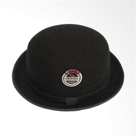 jual d d hat collection topi fedora chaplin topi bowler dewasa hitam harga kualitas