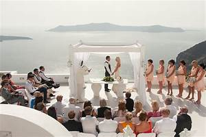A Stunning Real Wedding in Santorini The Bridal Consultant