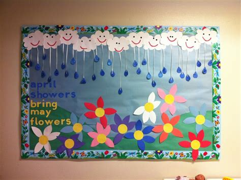 crafts actvities and worksheets for preschool toddler and 997 | Spring bulletin board 1