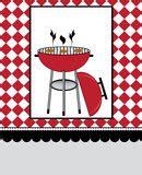 bbq party design stock illustration image