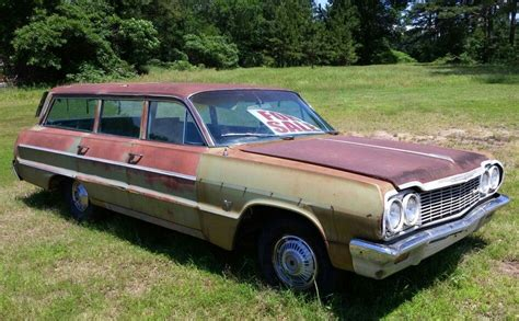 Station Wagon For Sale by 64 Chevy Impala Station Wagon For Sale Near Sallisaw