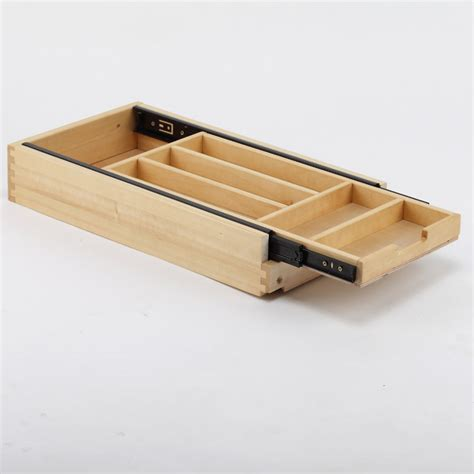 wooden kitchen drawer organizer supply wooden cutlery tray for furniture manufacturers 1636