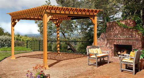 Pergolen Aus Holz by Pergola Wood