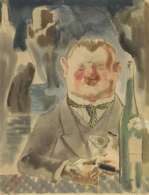 George Grosz (1893-1959) , Der Spiessbürger | Christie's
