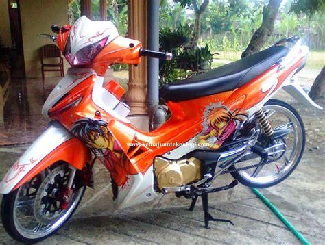 Dwonload Foto Drag Supra X 125 by Modifikasi Honda Supra X 125 Drag Race Foto Gambar