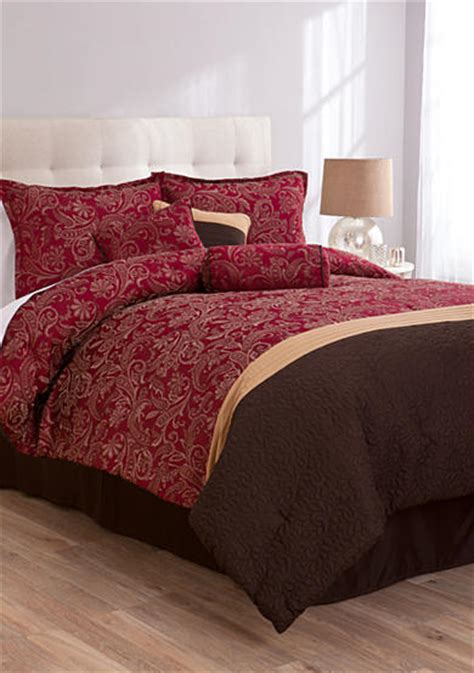belk bedding sets lifestyle home aldbury 7 comforter set belk