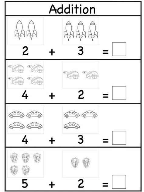 practicing  math skills  simple addition