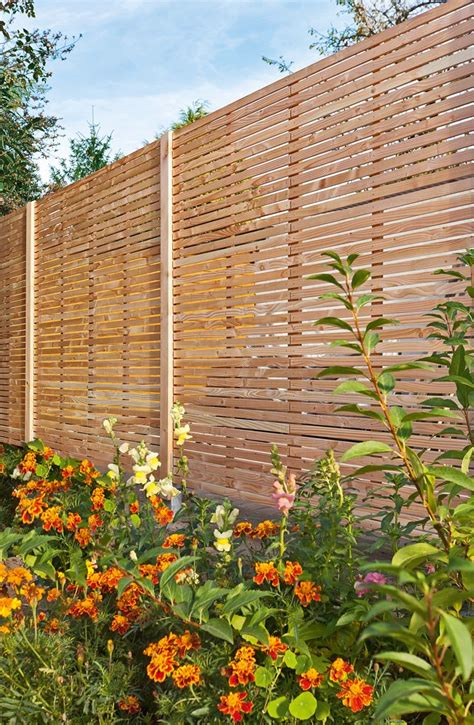 Sichtschutzzaun Selbst Bauen by Sichtschutzzaun Holz Garten Inspirationen Sichtschutz