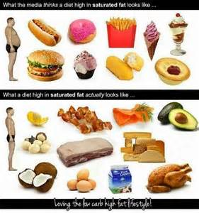 ... Carb Diabetic: What a diet high in saturated fat actually looks like Saturated Fat