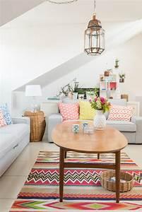 Wohnzimmer Mit Schräge : die 25 besten vintage teppiche ideen auf pinterest teppich geometrisch teppichmuster und ~ Orissabook.com Haus und Dekorationen