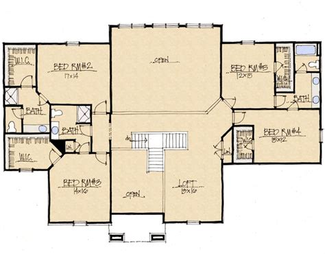 Schumacher Homes Floor Plan by Schumacher Homes Ridgewood Second Floor Future Home