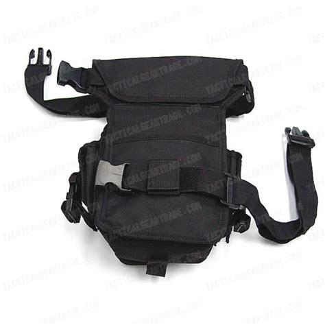 drop leg utility waist pouch carrier bag black for 9 44