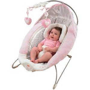 fisher price my little sweetie deluxe bouncer pink