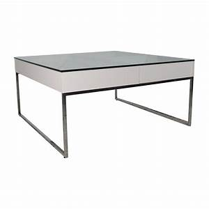 Table Bo Concept : 74 off boconcept boconcept white coffee table tables ~ Melissatoandfro.com Idées de Décoration