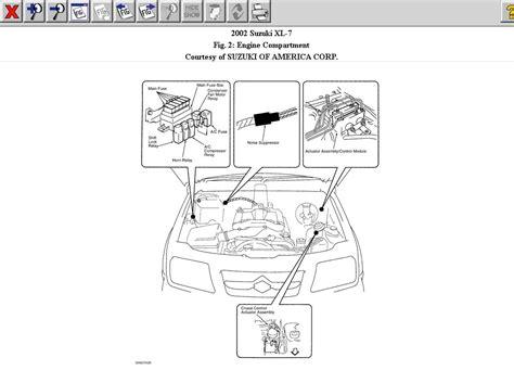suzuki grand vitara fuse box diagram  wiring